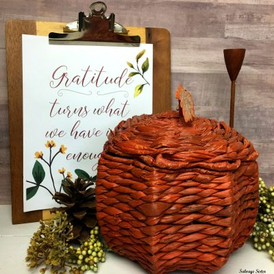 Thrifty Style Fall Home Decor Giveaway