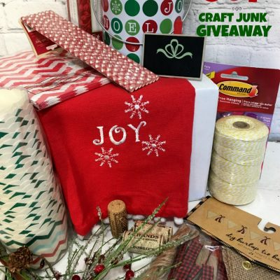 CHOOSE JOY- Craft Junk Giveaway