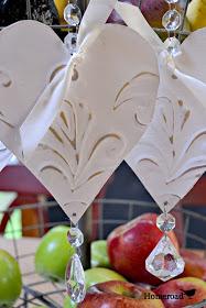 Tin Heart Ornaments - Homeroad