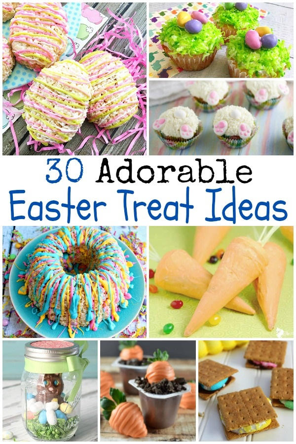 30 adorable Easter treats that can be made quick and are simple recipes fun for kids or adults, recipes , holiday , spring on salvagesisterandmister.com