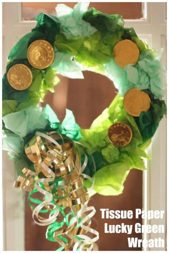 17 St Patrick S Day Tissue Paper Crafts Salvage Sister And Mister