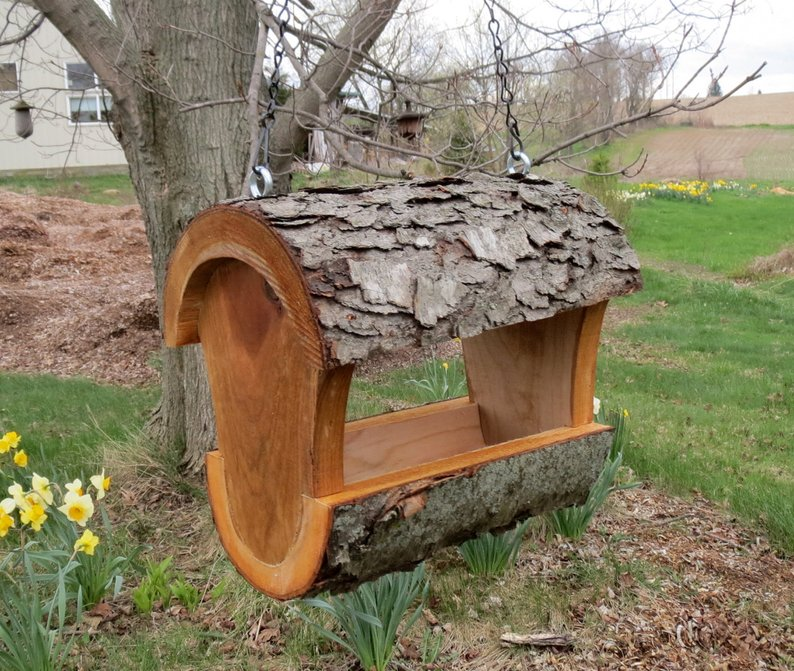 log birdhouse affiliate link