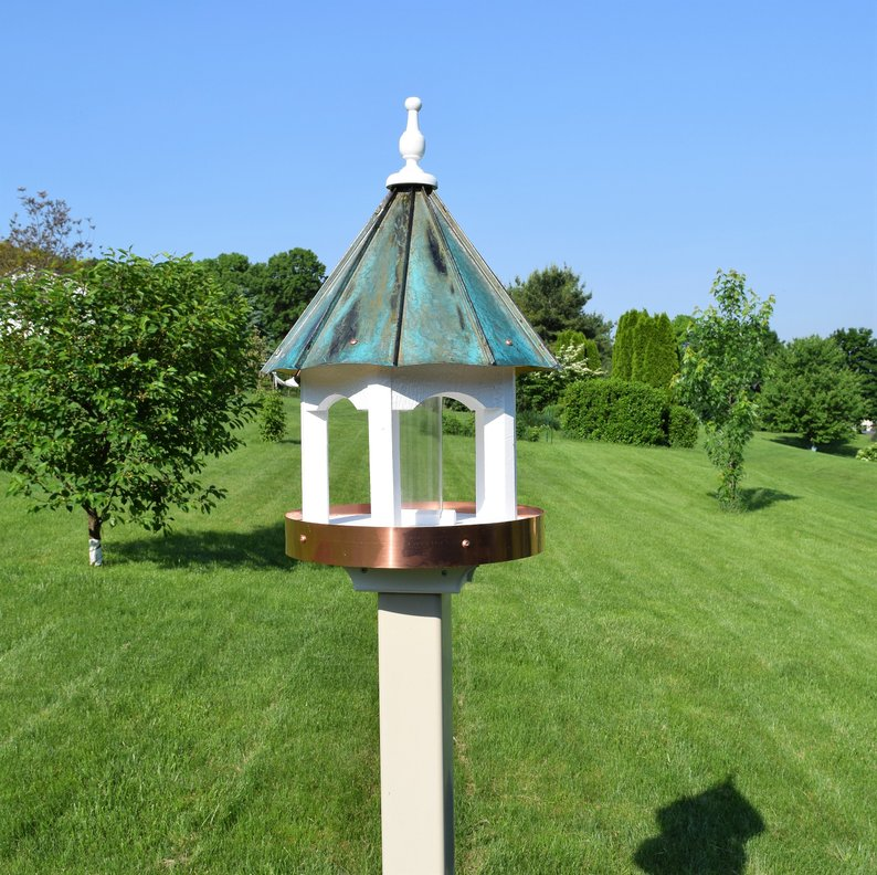 Amish bird feeder house affiliate link