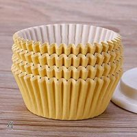 Cupcake Liners - hot sale 100pcs pure color cupcake liners muffin cases cup cake molds paper cups pastry tray decorating bakeware tools #246729