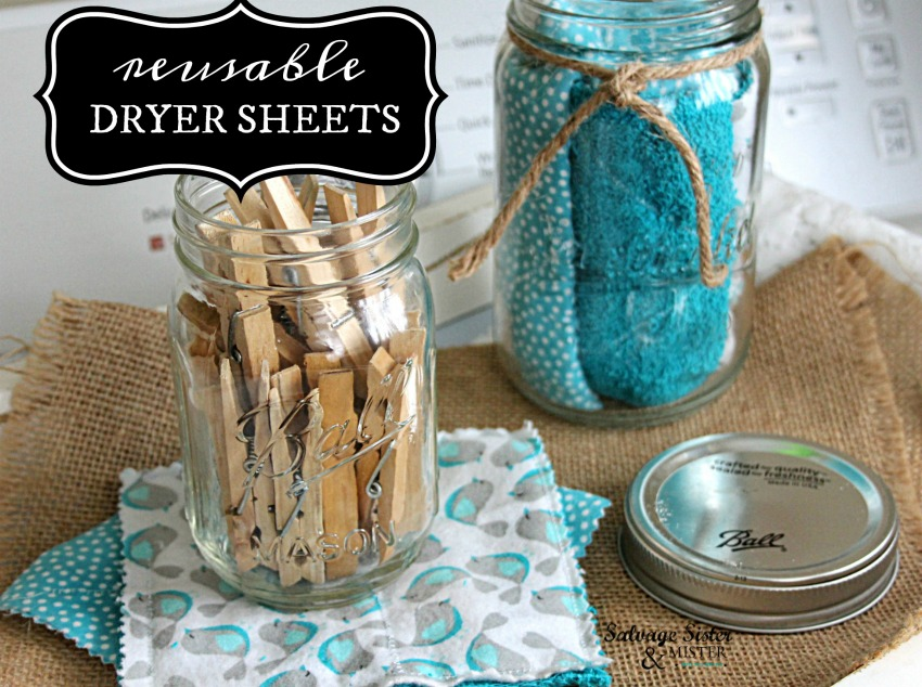 Creating your own dryer sheets - how to diy your own