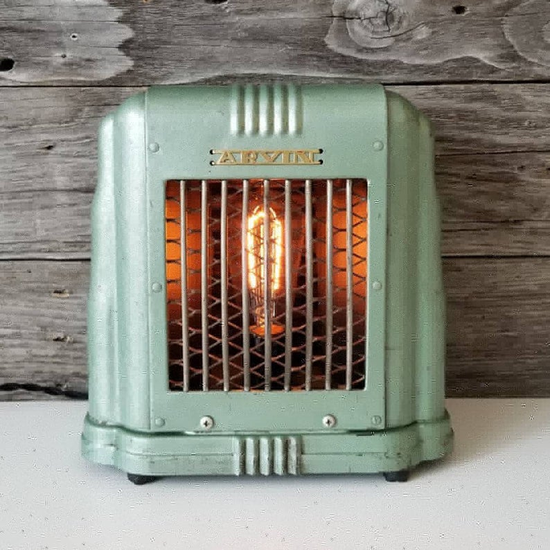 industrial upcycled lamp - affiliate link