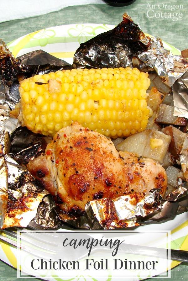 chicken foil dinner