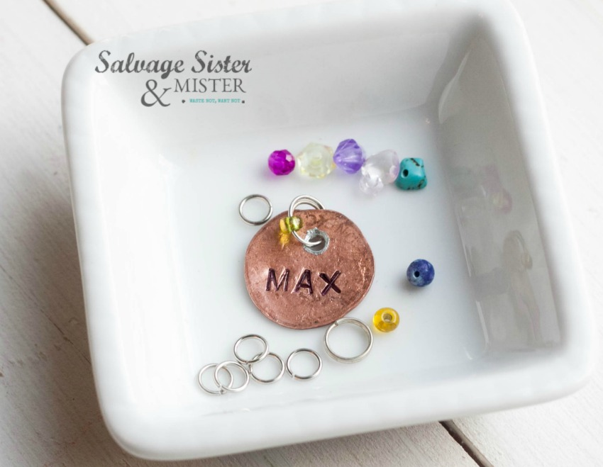 DIY - Craft project - penny charm on salvagesisterandmister.com