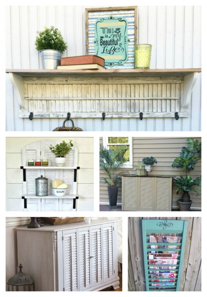 Wait, dont toss out those shutters.Get inspired with these 21 upcycled shutter projects