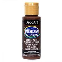 DecoArt Americana Acrylic Paint, 2-Ounce, Dark Chocolate