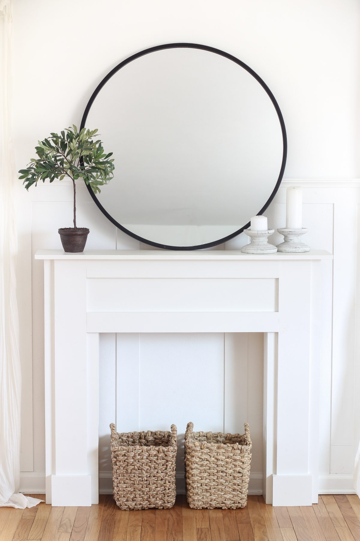 ways to build your own mantel
