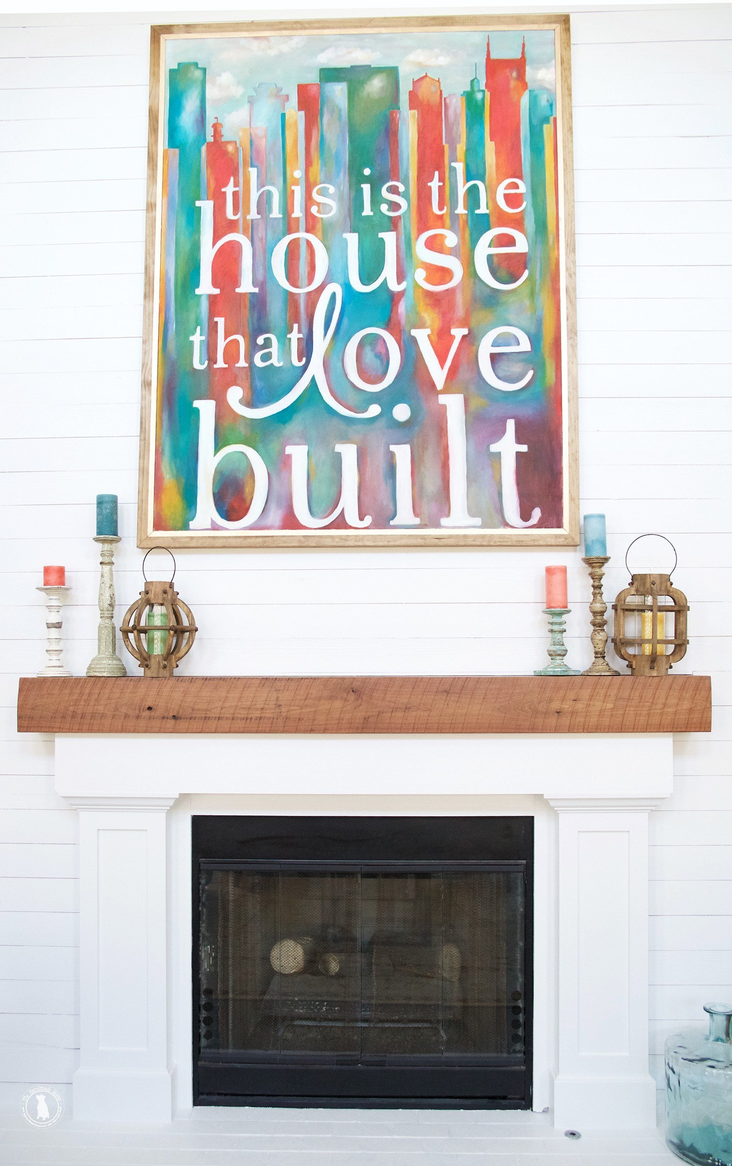 building your own mantel