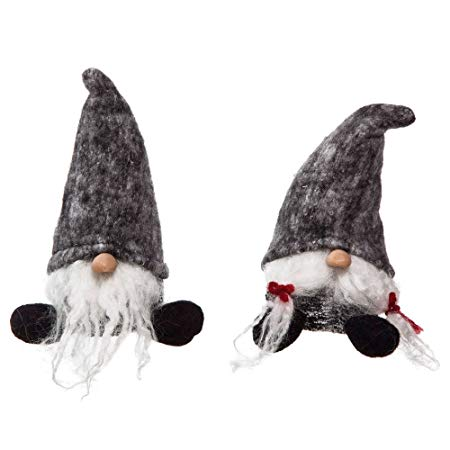 Santa Gnome  Set of 2