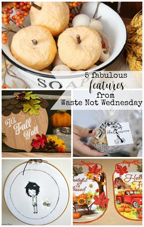 Waste Not Wednesday linky party.  Come get inspired by budget friendly decor, DIY, crafts, and recipes.  Or come and link up your post.  Join the party at salvagesisterandmister.com