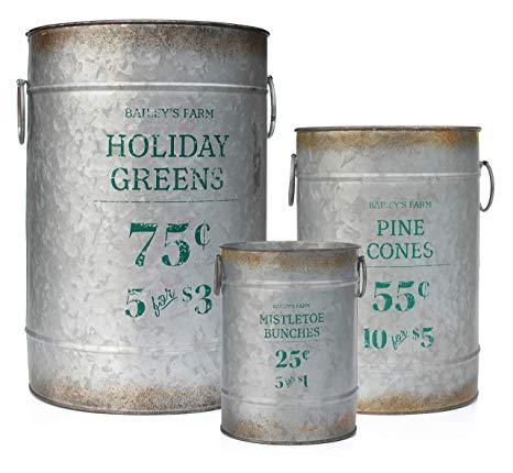 Vintage Inspired Metal Tins