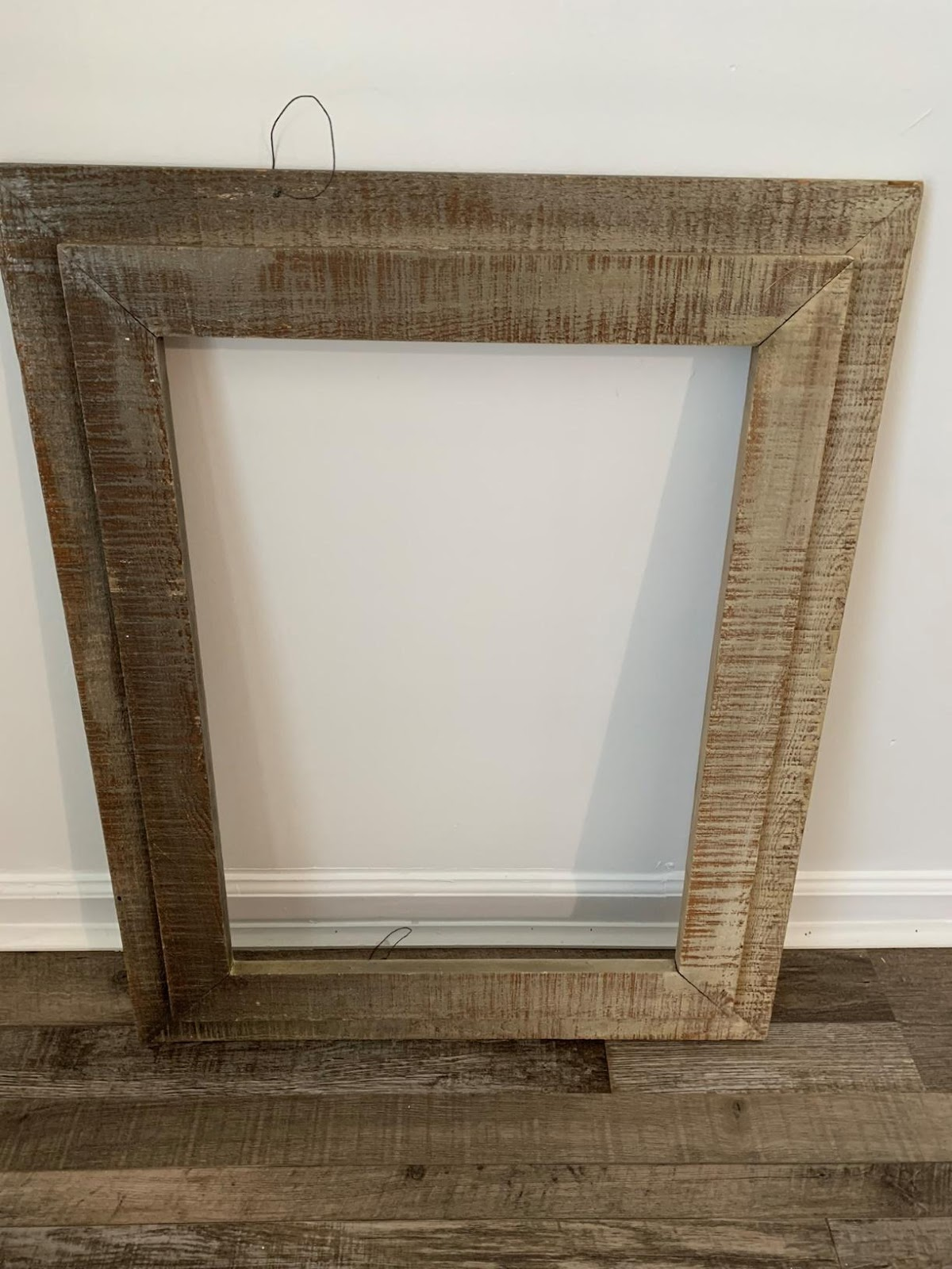 repurpose old memroy board using a thrifted frame