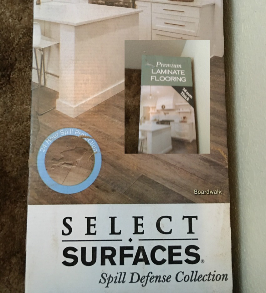 *sponsored installing select surfaces spill defense collection laminate flooring