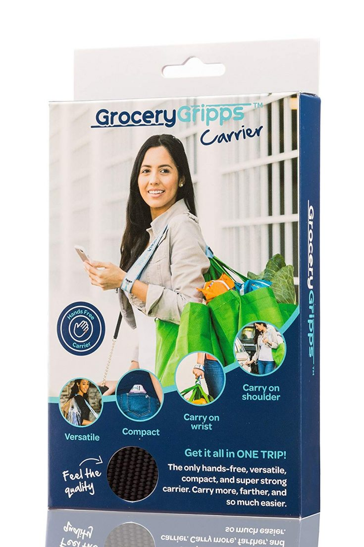 Grocery Grips Bag Carrier