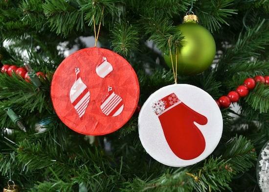 Martha StewartTissue PaperChristmas Ornaments