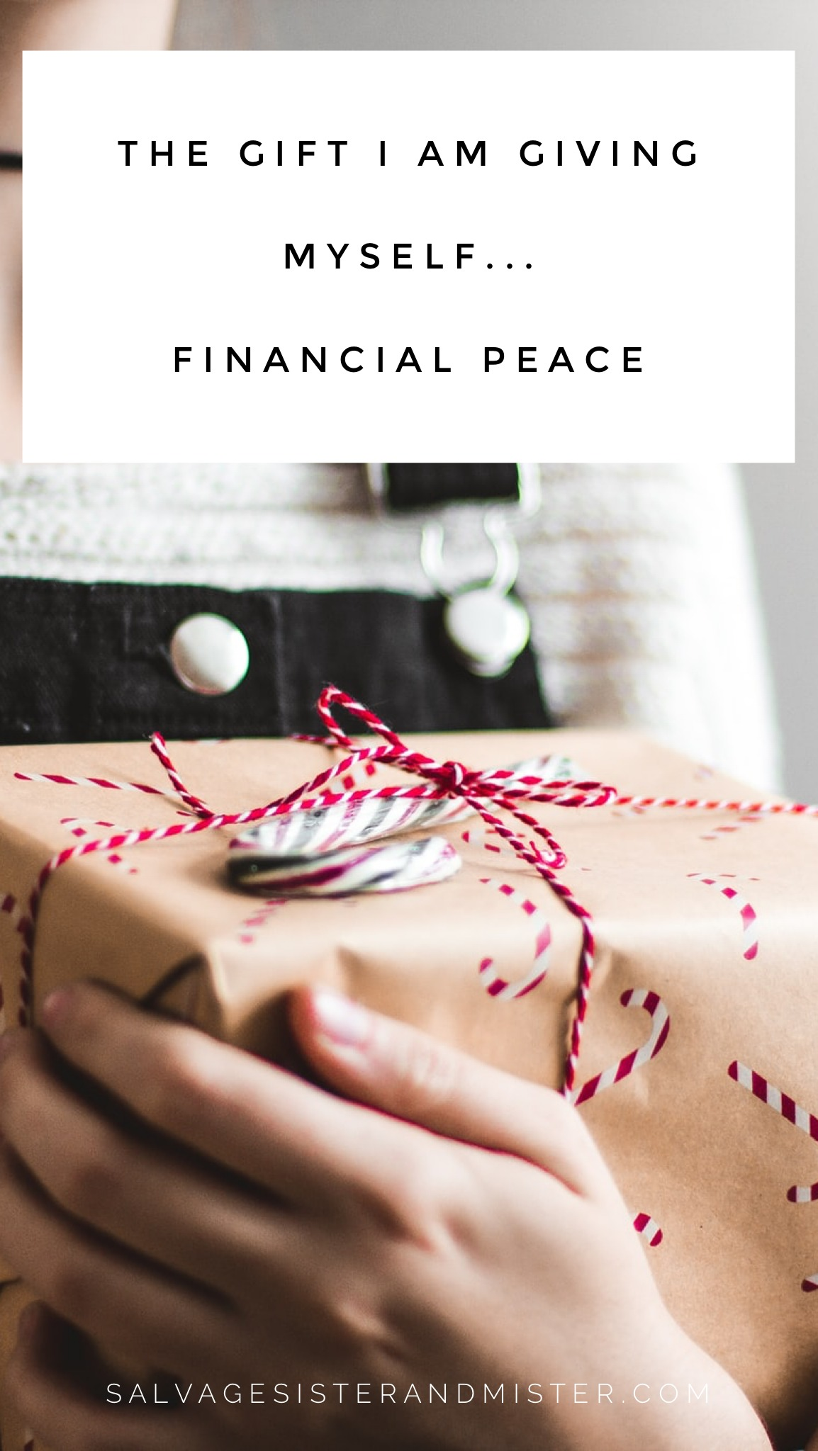 Yes, I am worth it. This is the one thing they won't be advertising, but is the gift I am giving myself financial peace. Tips on giving from the heart and not just to spend. Living debt free. Staying on budget-money management. Article found on salvagesisterandmister.com
