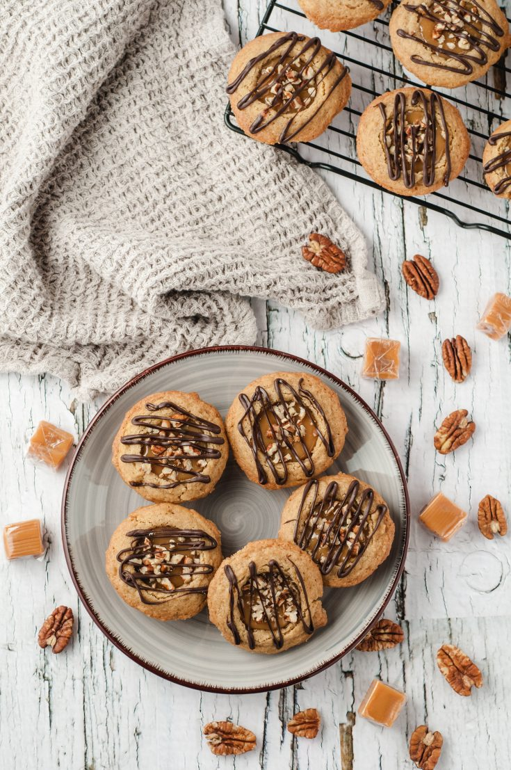 Caramel Cookie Cups