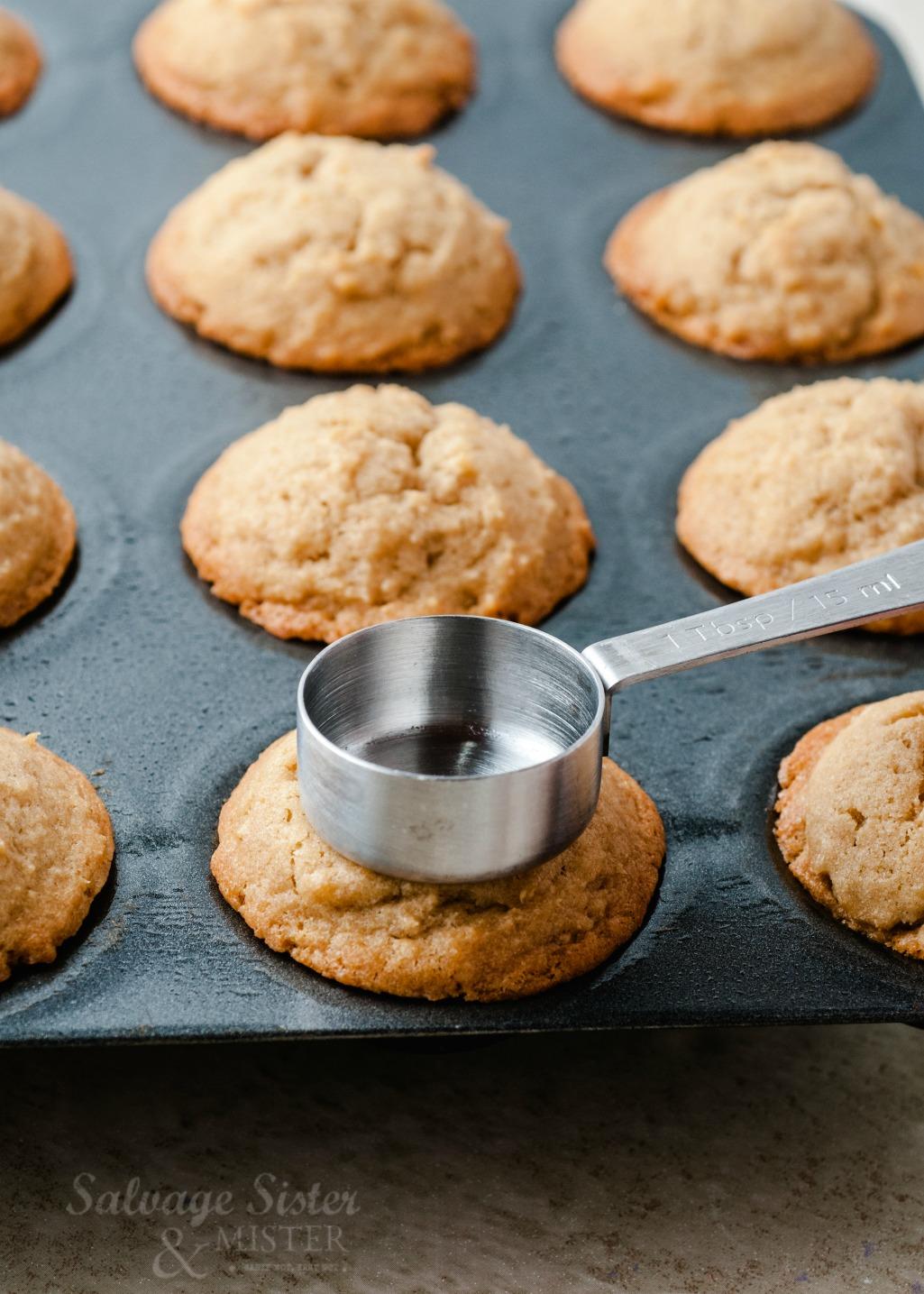 caramel cookie cups on salvagesisterandmister.com