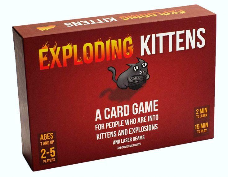 Exploding Kitten Card Game