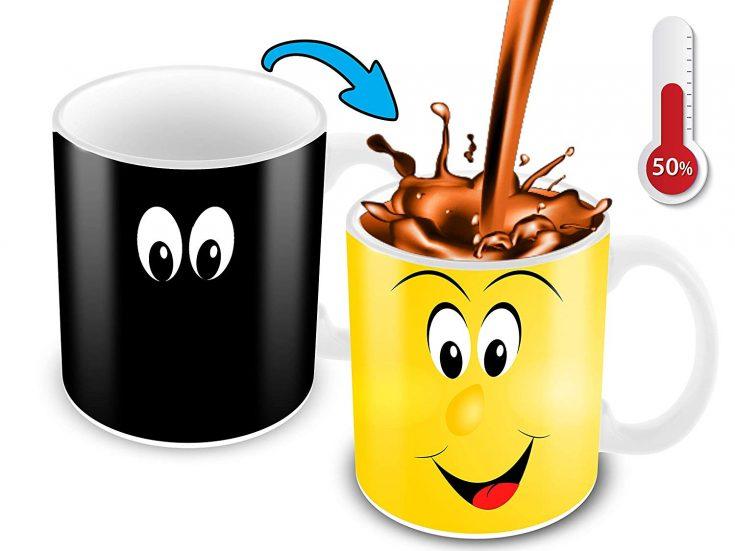Heat Changing Coffee Mug