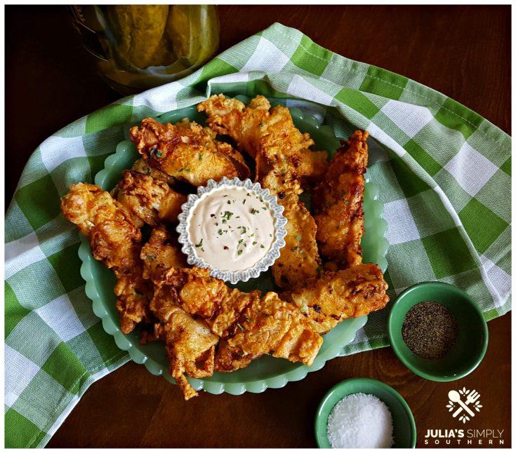Pickle Fried Chicken Tenders