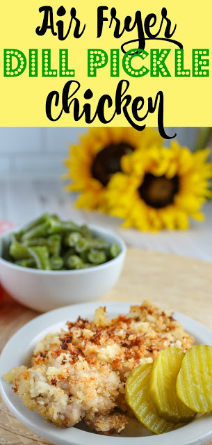 Recipe: Air Fryer Dill Pickle Chicken
