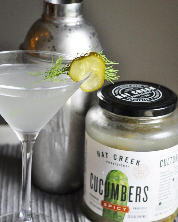 Spicy Pickle Martini Recipe