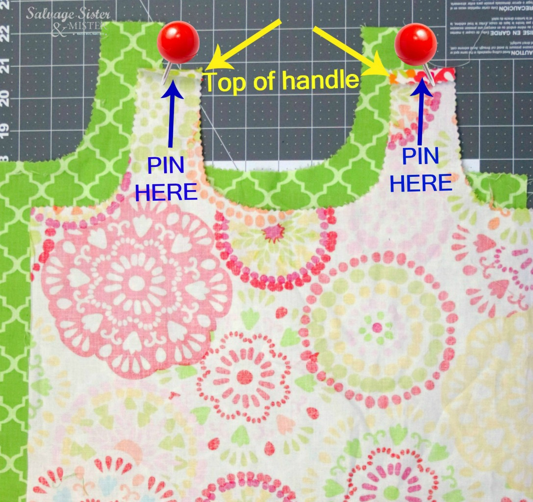 sewing project on salvagesisterandmistercom