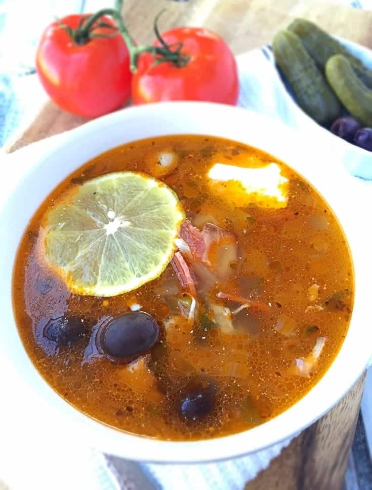 Solyanka Recipe (Russian Meat Soup)
