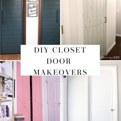 17 diy closet door makeovers
